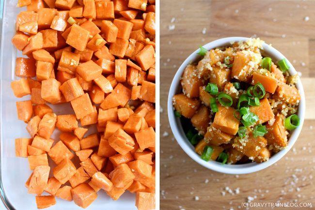 : tempura glazed crunchy sweet potatoes | Eats | Pinterest | Tempura ...