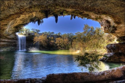 Beautiful landscapes in texas