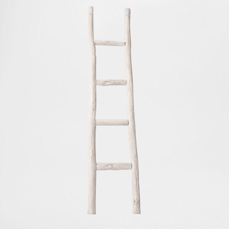 Подставка для полотенец Лестница из дерева