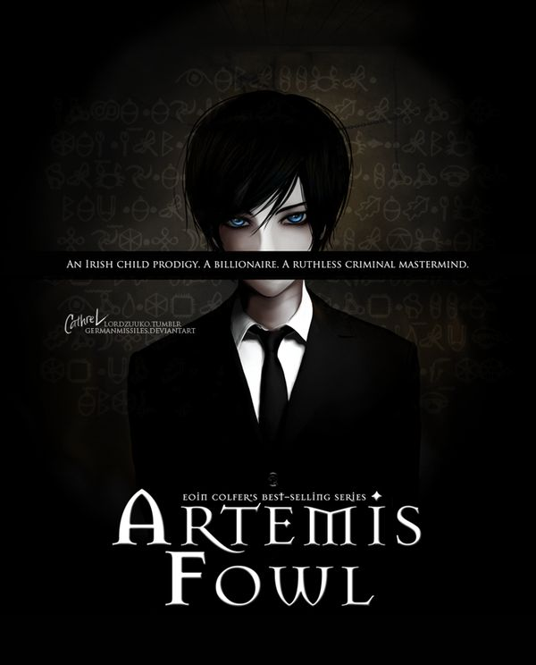 Artemis Fowl by germanmissiles.deviant-art.com on @deviantART (. . . O_O) he reminds me of death the kid
