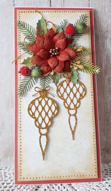 Blog Craft Passion: Złoty połysk/ Golden shine