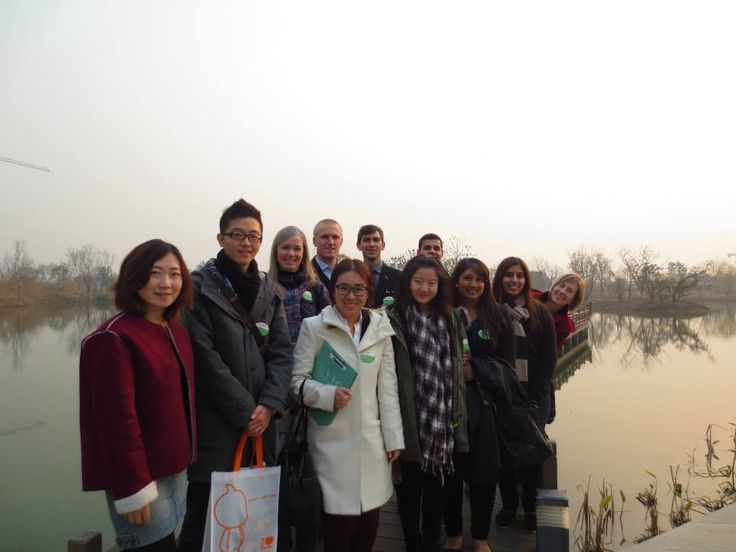 Gustavson students learn how Business is done in China