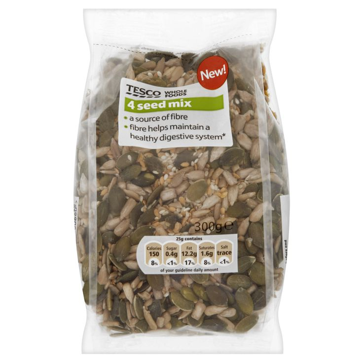 Tesco Whole Foods  Seed Mix
