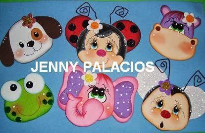 Marujitas Crafts: PROF.JENNY PALACIOS DE VENEZUELA