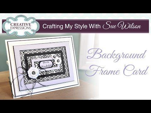 Background Frame Card