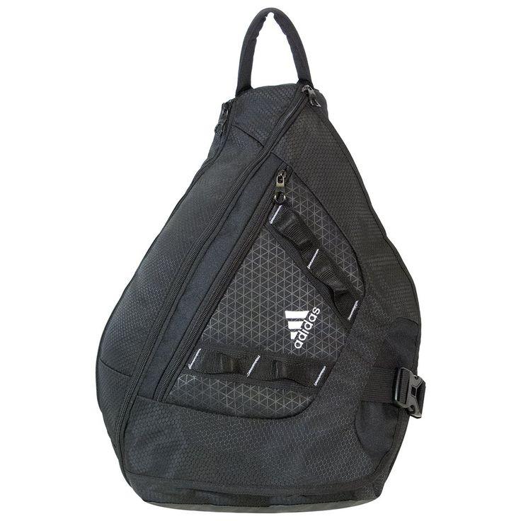 adidas Capital Sling Backpack Black Sports