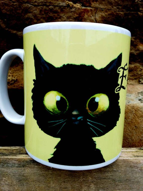 Every Cat has a Tale Mug Pagan Cat lovers Crazy Cat lady