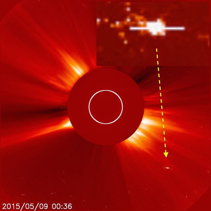 UFO SIGHTINGS DAILY: Two More Massive Ships Enter Suns Orbit, Three Now! May 9, 2015, UFO Sighting News.