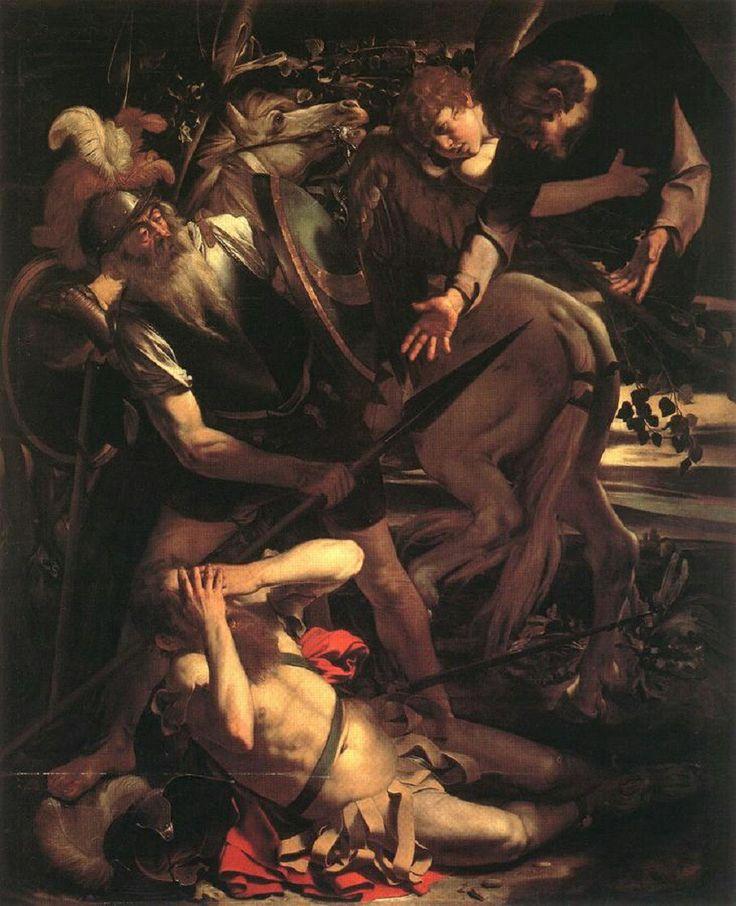 Caravaggio- la conversión de san Pablo