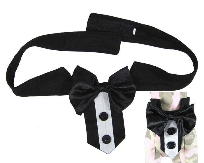 Black & White Strip Tie