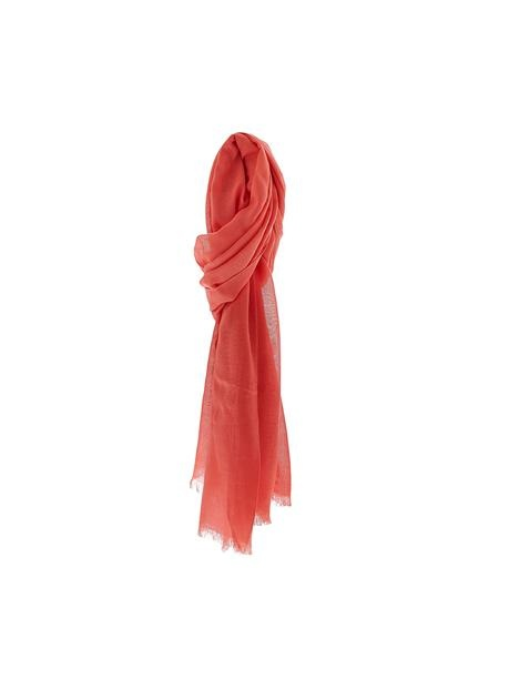 Boho Spring Scarf in Coral   Bohemian Accessories