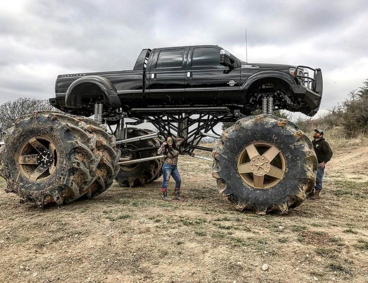 The World's Largest Dually Truck