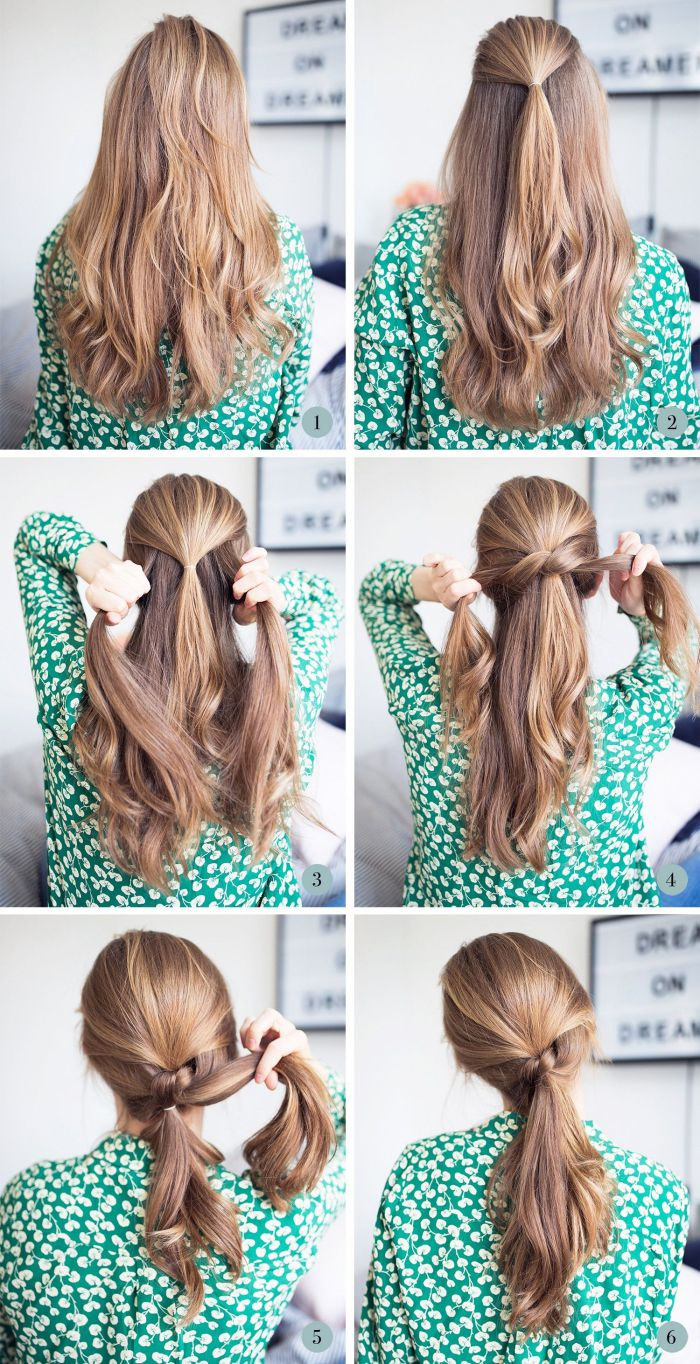 19+ Queue coiffure facile a faire inspiration