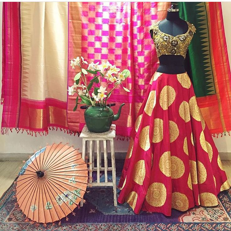 Banarsi brocade lehenga inspired by Manish malhotras 2016 collection