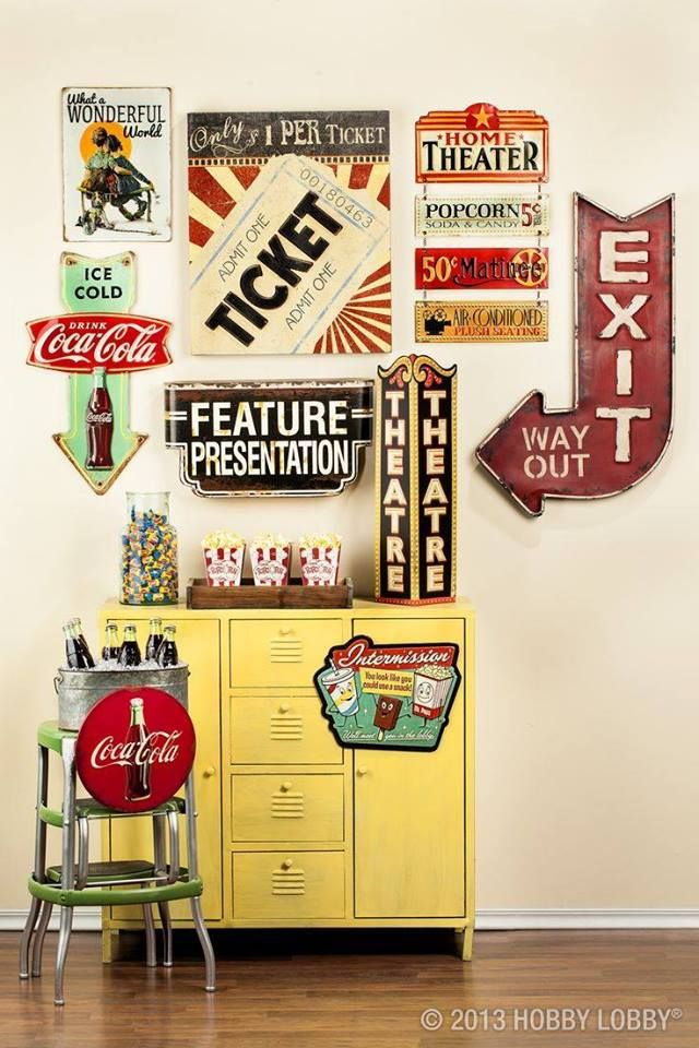 33 best decor cinema images on Pinterest | Movie theater, Home ideas ...