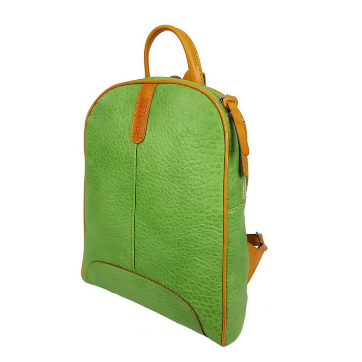 Handmade Backpack for Women, Green