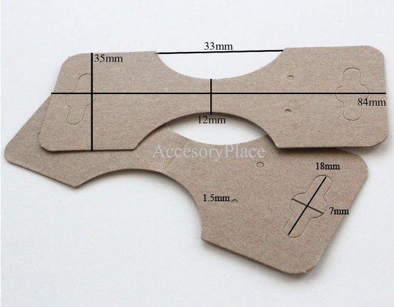 50 piezas de colgante collar de cola de caballo por AccessoryPlace