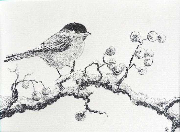 Tit. Desenho de tinta