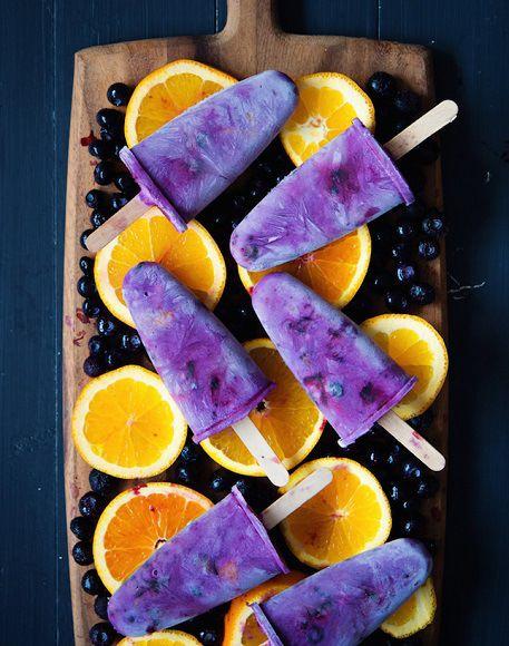 Purple Popsicles  #yum