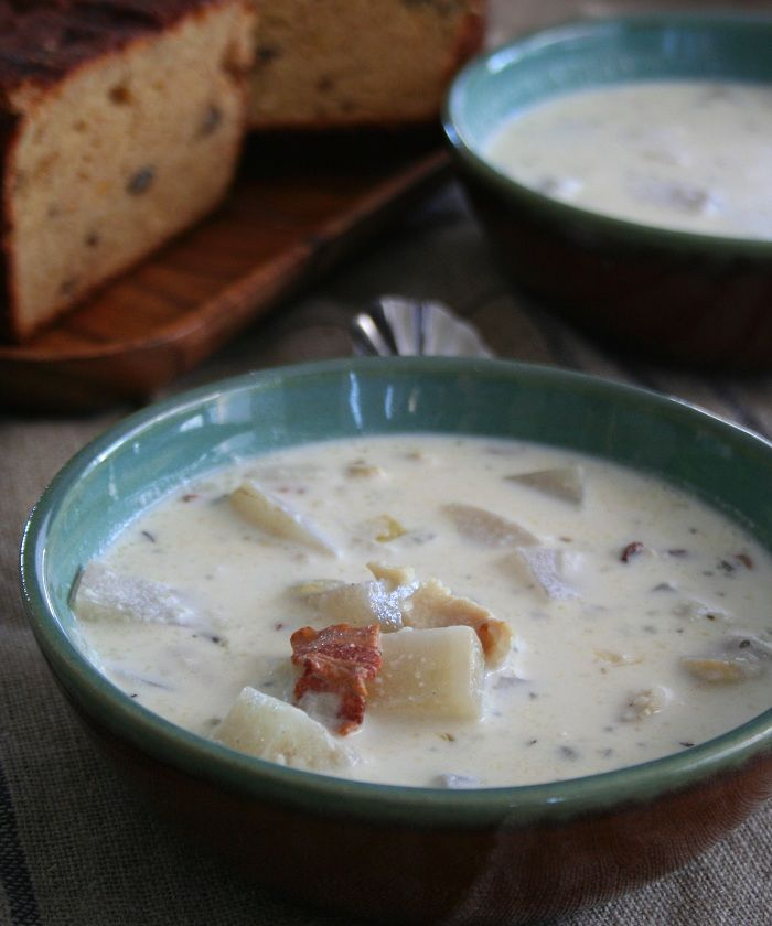 25 best ideas about fish chowder on pinterest clam for Easy fish chowder