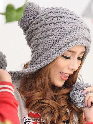 Молодежные шапки 2016: фото модных, стильных шапок- 2016 для подростков (вязаных и меховых)