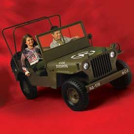 Willys jeep for kids!
