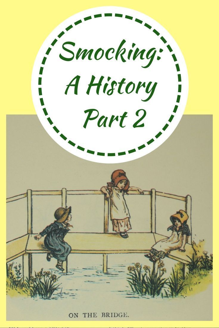 A history of smocking from the late s until today pink