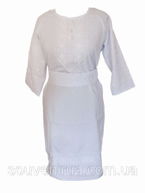 Платье с вышивкой Утренняя роса (Платья с вышивкой в украинском стиле), фото 1