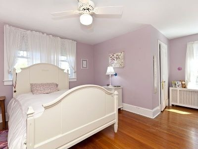 Lavender Girls Bedroom, Love The Wall Color And Floors