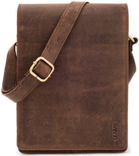 Oferta: 59.98€ Dto: -57%. Comprar Ofertas de LEABAGS Dover bolso bandolera de auténtico cuero búfalo en el estilo vintage - NuezMoscada barato. ¡Mira las ofertas!