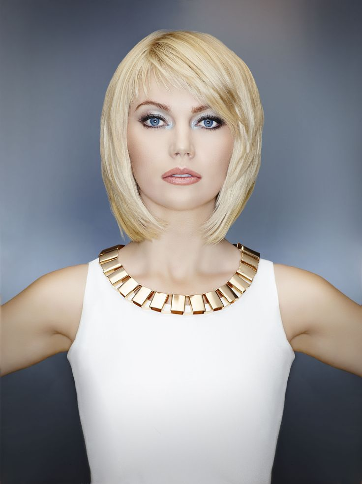 "modern salon magazine's ""golden girl"" feature #blonde #bob"