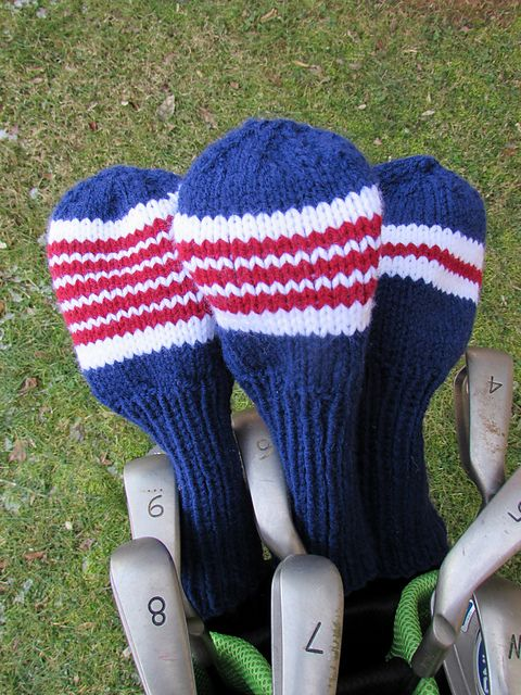 Ravelry Project Gallery For Golf Club Covers Pattern By