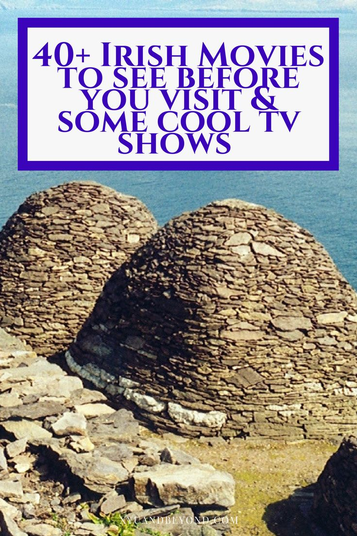 40 Irish Movies to see before you visit Ireland, & a couple of TV shows that are are must sees from Vikings to Game of Thrones via @https://www.pinterest.com/xyuandbeyond/