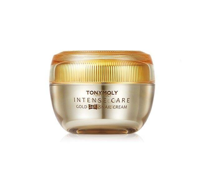 Tonymoly Intense Care Gold 24k Snail Cream 45ml Anti Wrinkle Care 8806194009506 Ebay Snail Cream 24k Gold Tony Moly