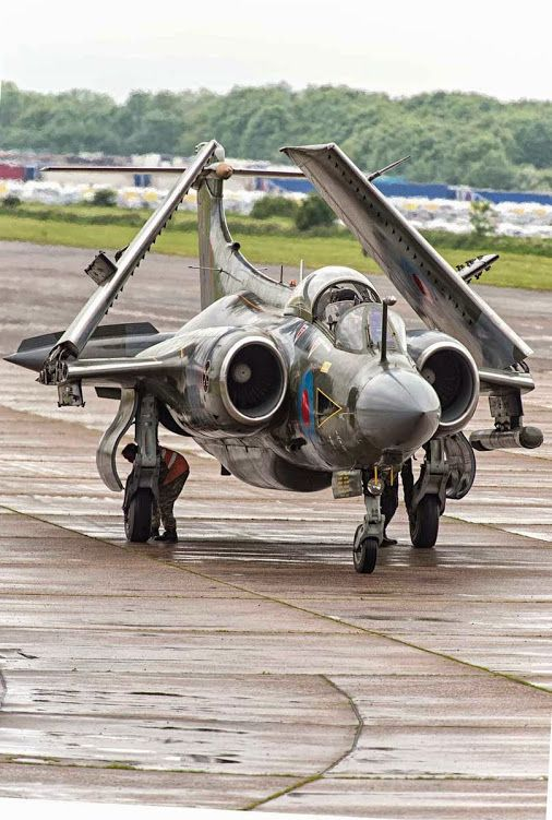 Blackburn Buccaneer Mk S2B - Bruntingthorpe 2015
