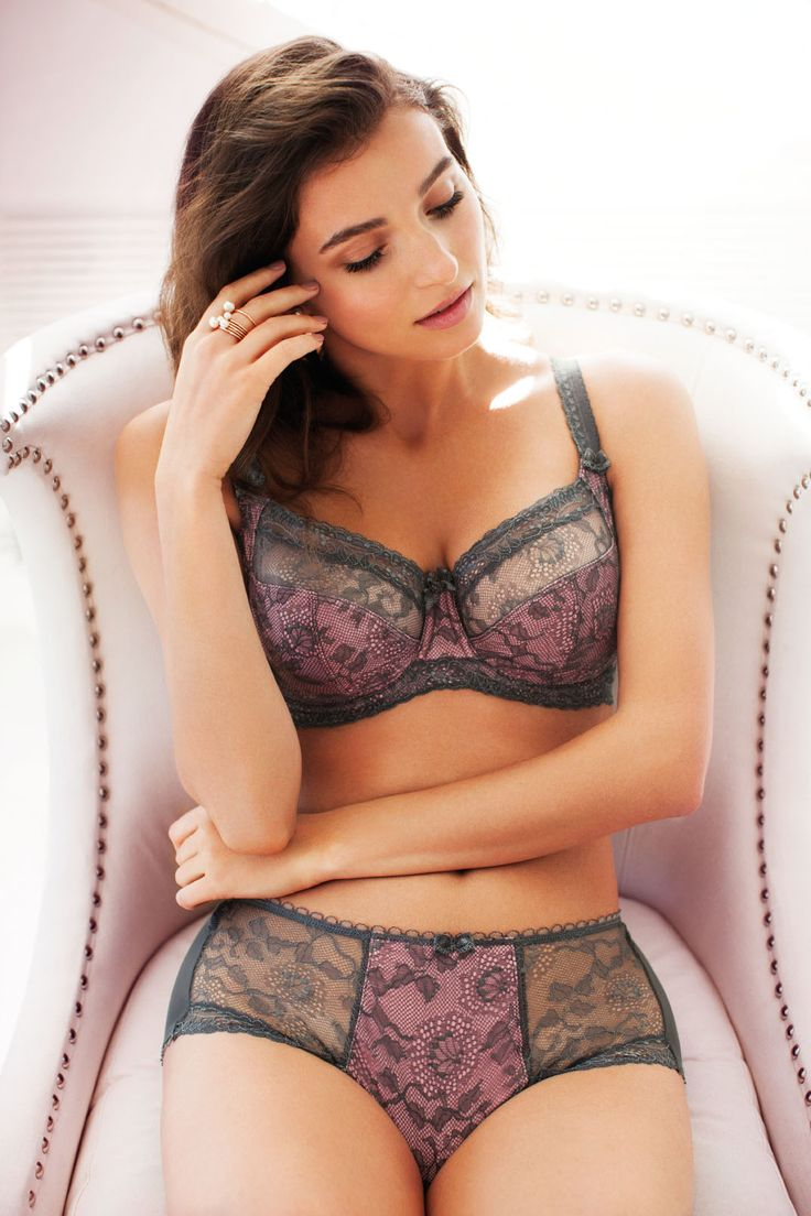 Welcome to opulence as Susanna gives you stunning pewter lace over a rose base to create a seductive look, complete with leavers lace and delicate bows.
