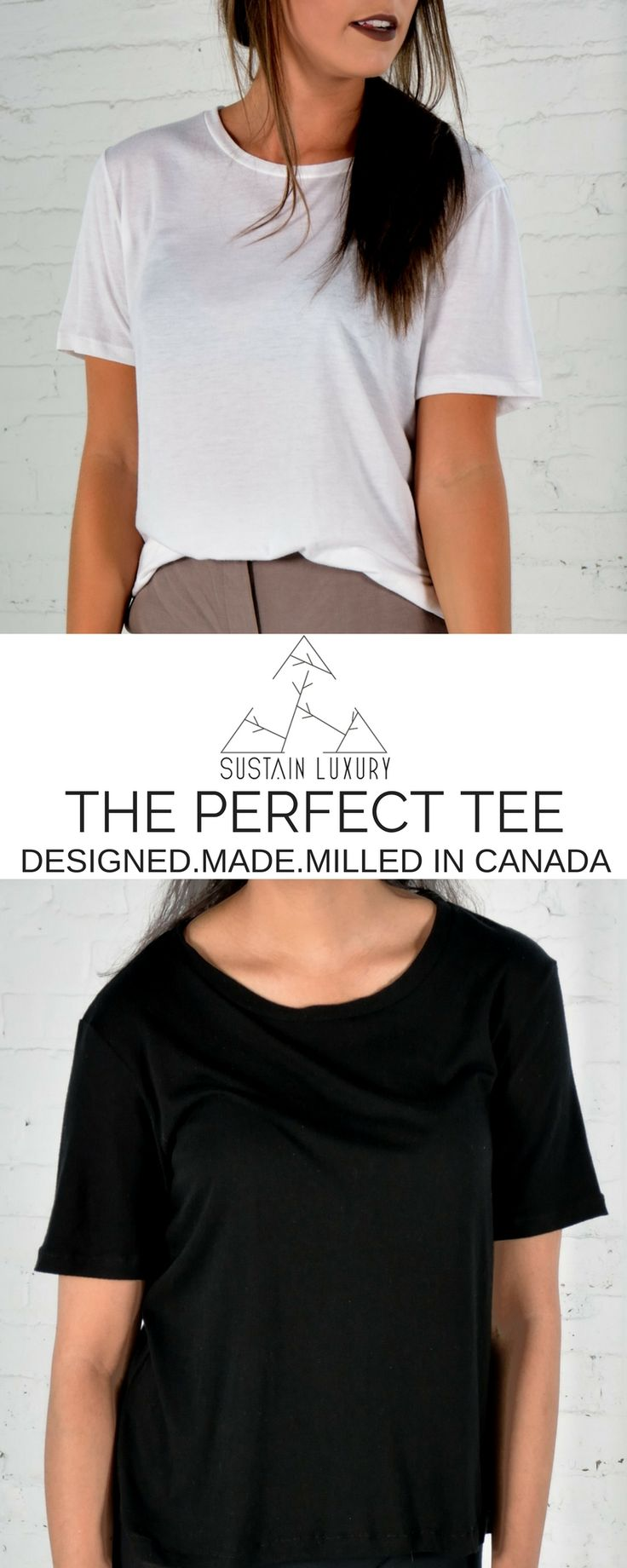 The Perfect Basics Line From Sustain Luxury Organic