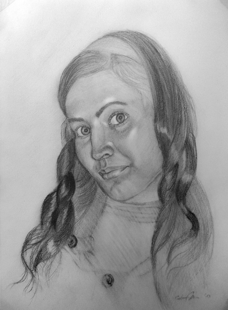 Portrait for a girl