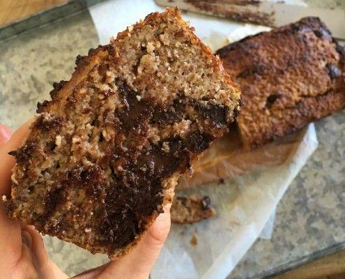 Paleo Choc-chip Banana Bread