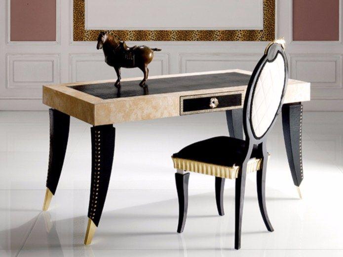 S90 Scrivania Collezione Paris by Rozzoni Mobili d'Arte design Statilio Ubiali