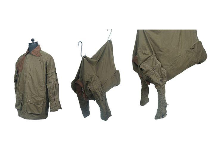 hunting jackets of endangered species by rohan chhabra - designboom | architecture & design magazine