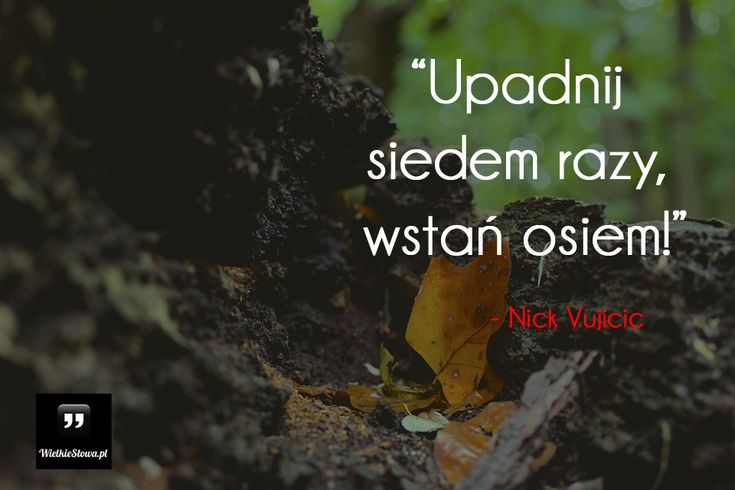 Upadnij siedem razy... #Vujicic-Nick,  #Motywujące-i-inspirujące