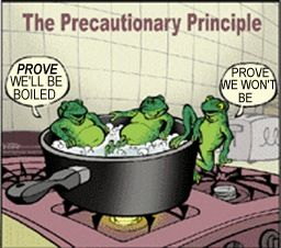 Yeah, we humans too often ignore the Precautionary Principle & get burned [many times to death].