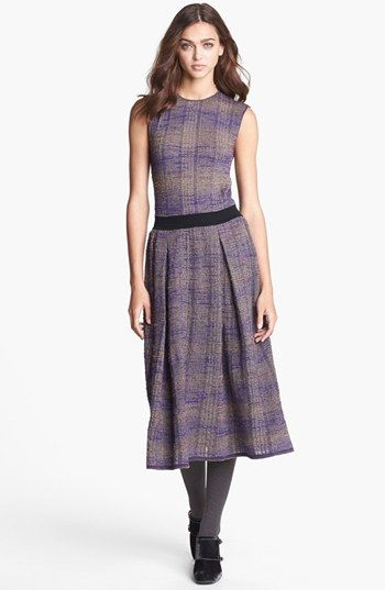Tory Burch 'Nadia' Knit Midi Dress available at #Nordstrom