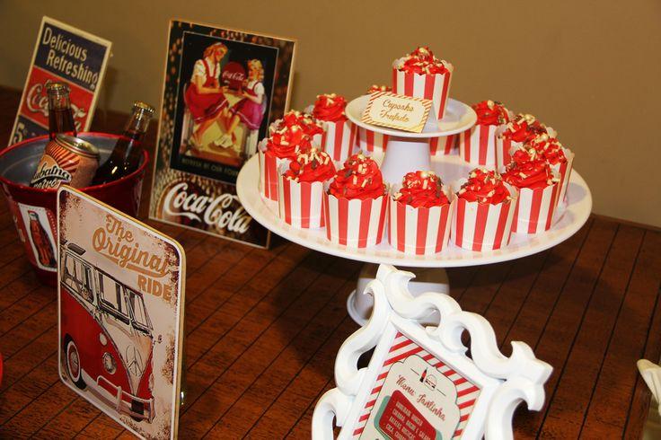 Festa Retro - Diner Anos 50-60 por @Ddesigneria