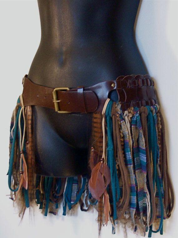 Hip skirt hip belt pixiehooping skirttattered by LamaLuz on Etsy