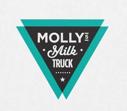 Designspiration — Molly's Milk Truck Logo Design | Imagemme New York
