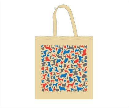 Dog Pattern Çanta -Magma #Bonvagon`da