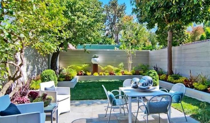 Nice Small Backyard Travel Pinterest