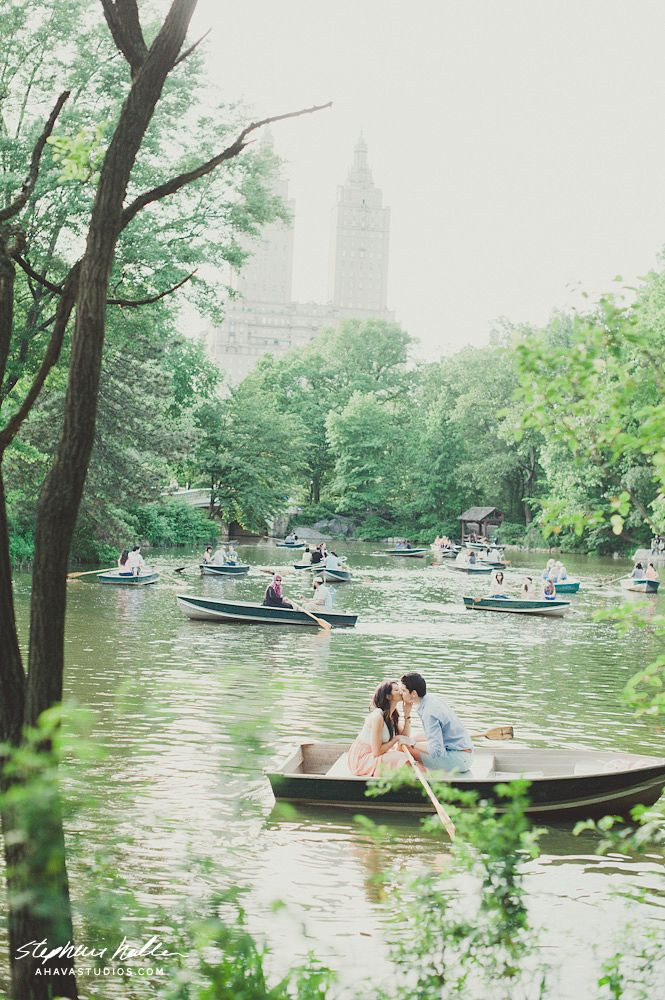Central Park, looking forward to having a boat ride with my sweet husband this coming Fall. ;)